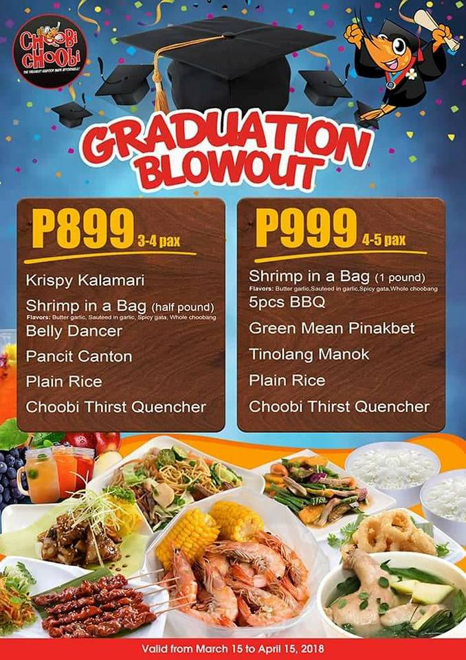 choobi choobi graduation blowout