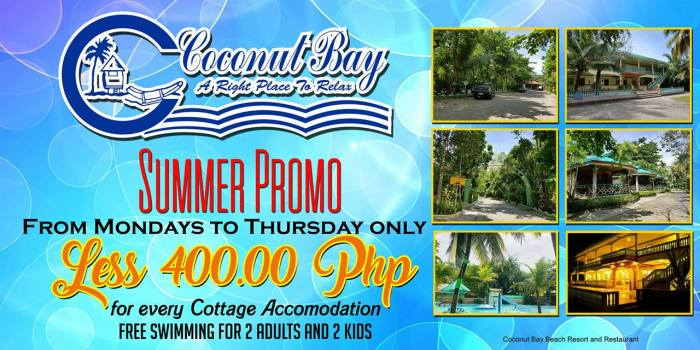 coconutBay Summer Promo