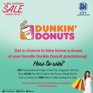 like scan and win dunkin donuts