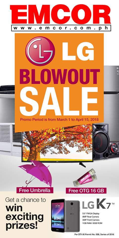 Emcor LG Blowout Sale