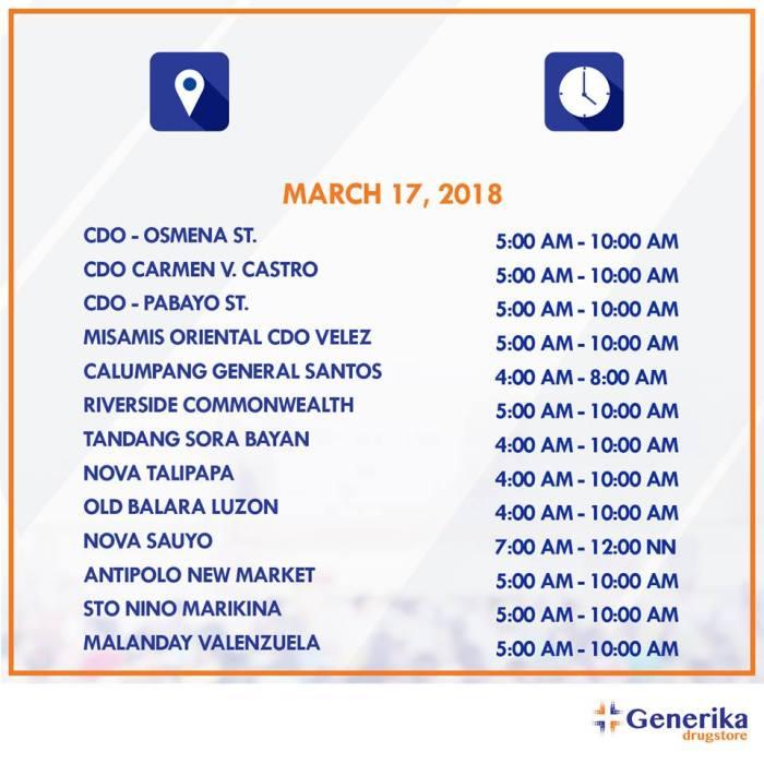 generika mobile laboratory schedules