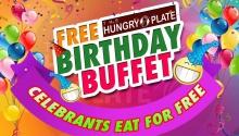 Hungry Plate Free Birthday Buffet FI