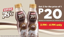 kopiko 78 get 2 for price of 1 FI