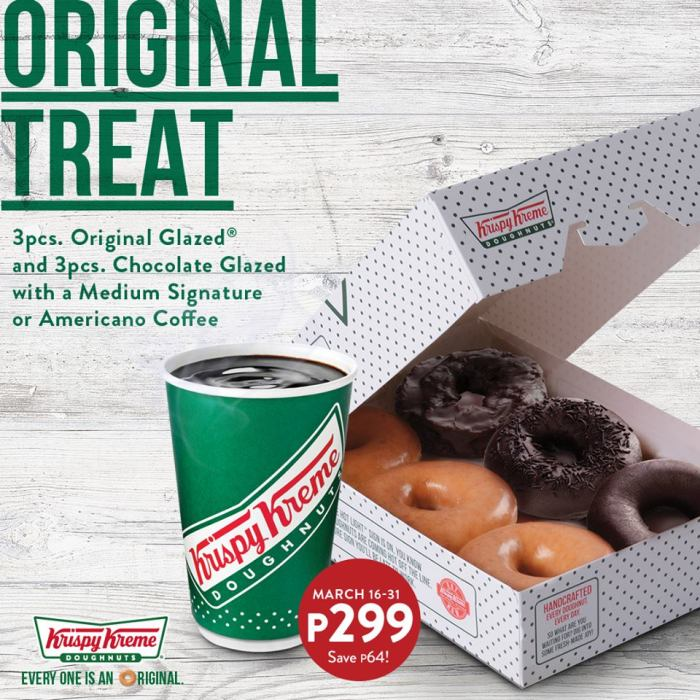 Krispy Kreme Original Treat 2