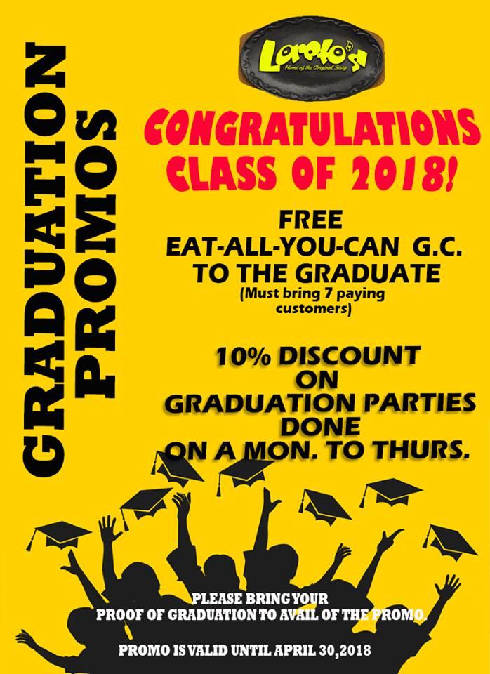 Loreto's Graduation Promo