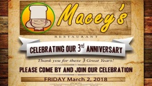 maceys 3rd anniversary FI