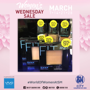 Maybelline Fit Me Women's Wednesday Sale