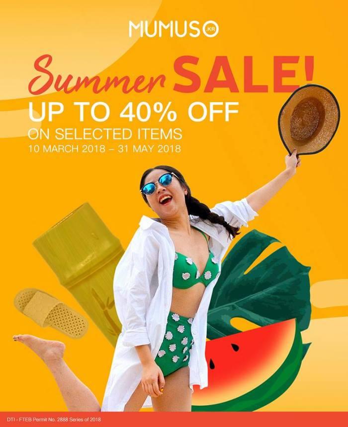 Mumuso Summer Sale