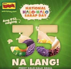 national halo-halo sarap day mang inasal