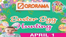 ororama easter egg hunting FI