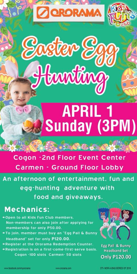 ororama easter egg hunting