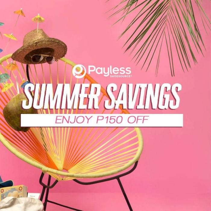 payless shoesource summer savings