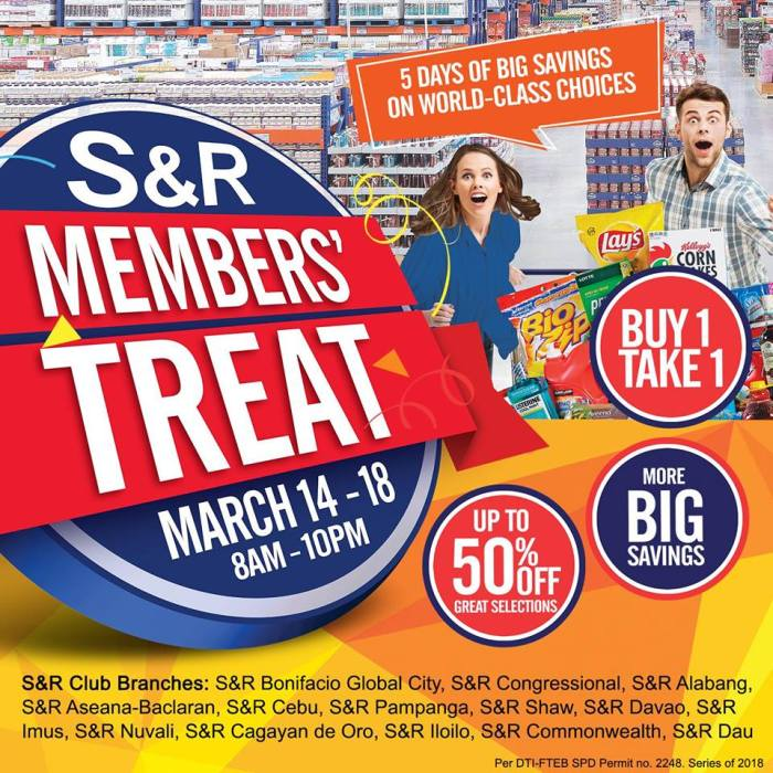 S and R members treat detailed