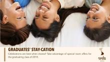 seda centrio graduates staycation FI