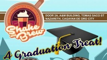 shake and brew graduation FI