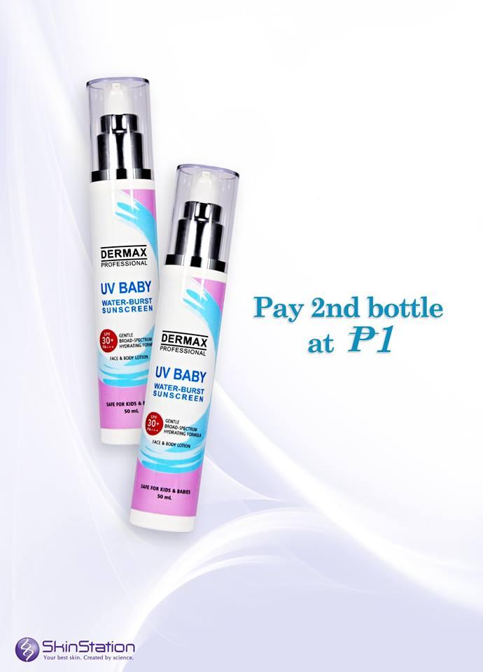 Skinstation UV Baby Water-Burst Sunscreen Piso Sale