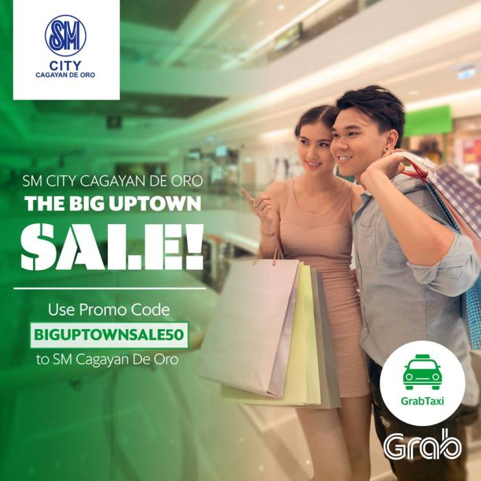 SM City Big Uptown Sale Grab