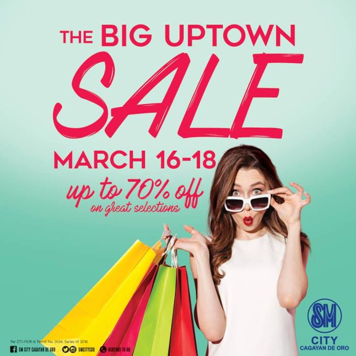SM City Big Uptown Sale sq