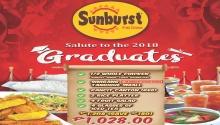 Sunburst graduation promo FI