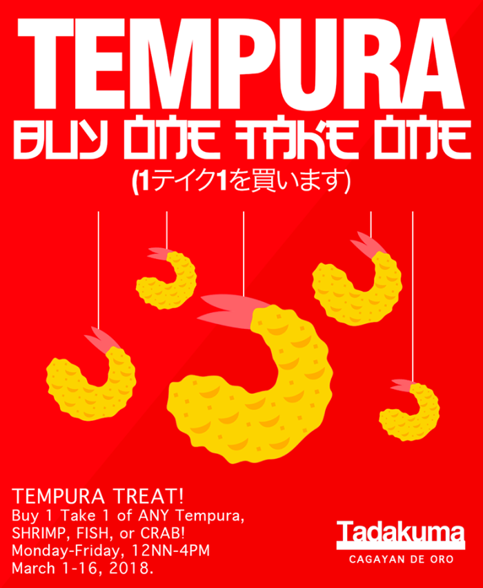 tadakuma buy 1 take 1