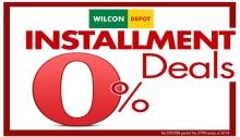 Wilcon Depot Installment Deals FI