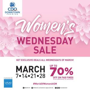womens wednesday sale downtown