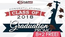 Yakimix Graduation Promo FI