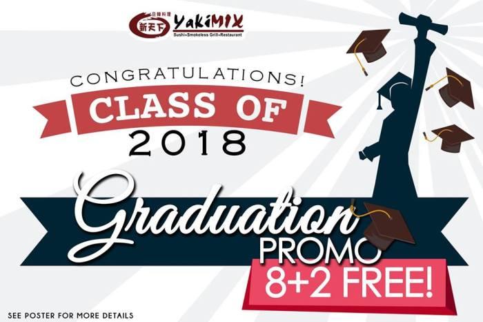 Yakimix Graduation Promo