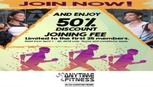 Anytime Fitness 50 percent Discount FI