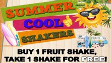 Buy 1 Take 1 Summer Cool Shakers