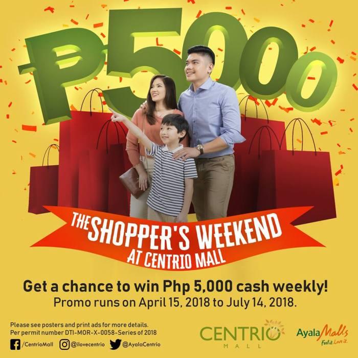 Centrio Shopper's Weekend