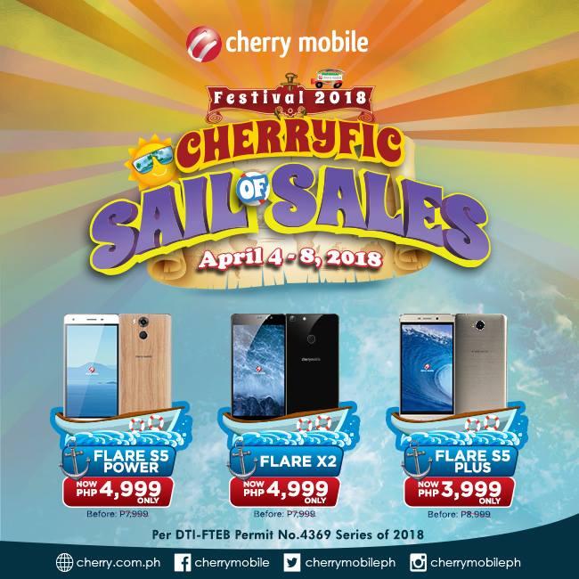 Cherryfic sail of sales