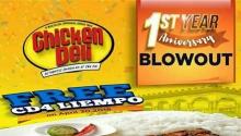 chickenDeli Centrio 1stYearAnniversary Blowout FI