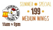 Chimmy's Chicken & Beer SummerSpecialFI