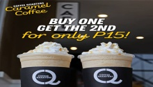 Coffee Quarters Caramel Coffee Promo FI
