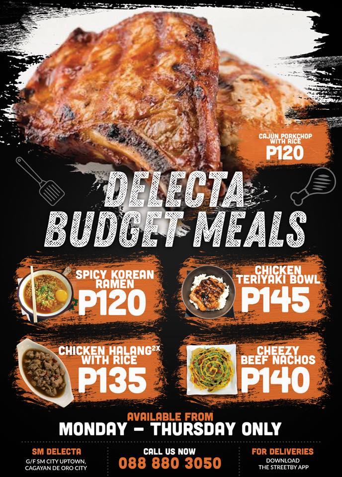 Delecta Budget Meals