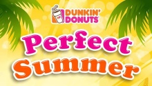 Dunkin Donuts perfect summer FI