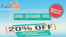 FastCat 20% off special promo FI