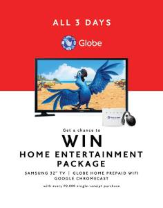 Win Home Entertainment Package SM City CDO 3day Sale