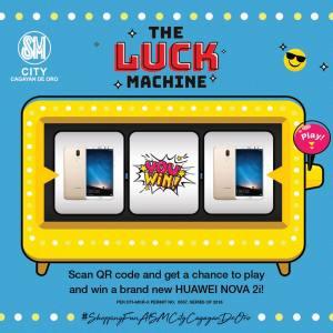 The Luck Machine Huawei Nova 2i