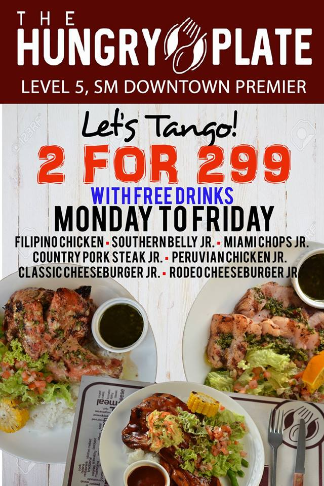 Hungry Plate SM Uptown 2 for 299