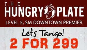 Hungry Plate SM Uptown 2 for 299 FI