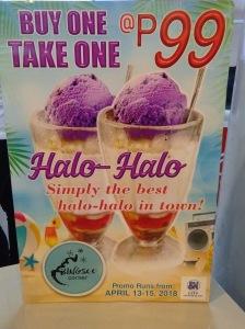 Bingsoo Corner SM City CDO Buy 1 Take 1 Halo-Halo