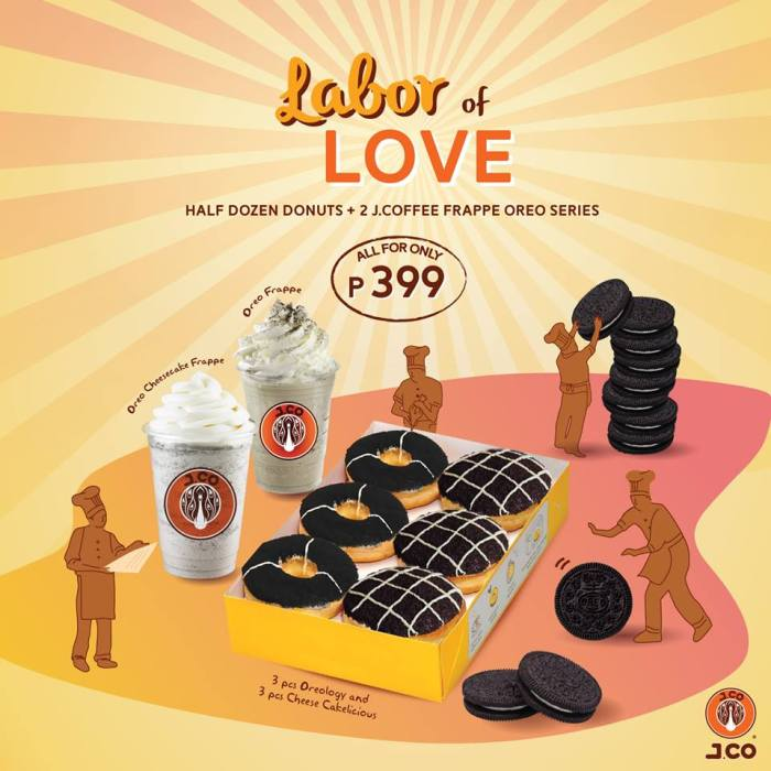 J.CO Labor of Love