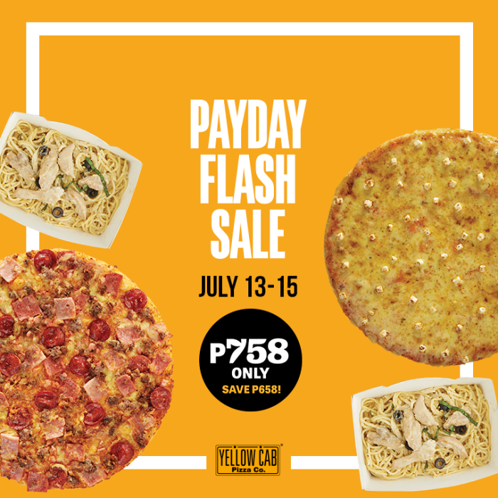 July 13-15 Payday Flash Sale