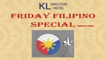 Kingston Lodge Hotel friday filipino special FI