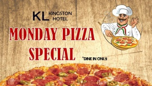 KLHotel Monday Pizza Special