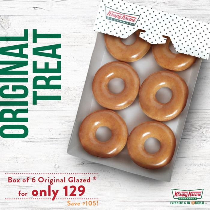 Krispy Kreme Original Treat 2018
