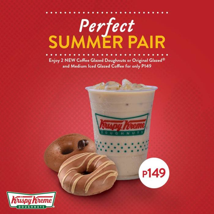 Krispy Kreme Perfect Summer Pair