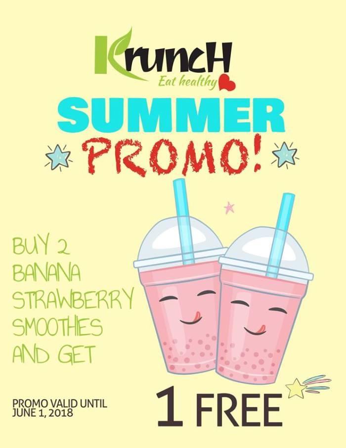 Krunch Summer Promo